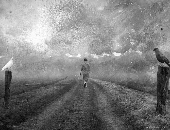 F vrier 2014 le bout du nez - Image triste noir et blanc ...