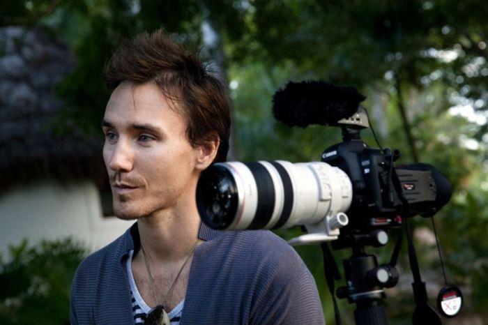 Rob Stewart, réalisateur du documentaire Sharkwater